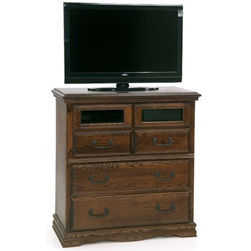 Furniture Traditions Master-Piece Bedroom Entertainment Console