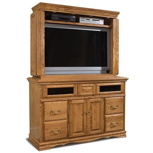 Furniture Traditions Master-Piece TV Console & Hutch