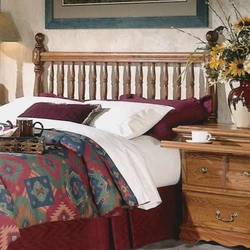 Furniture Traditions Master-Piece California King Deluxe Spindle Headboard