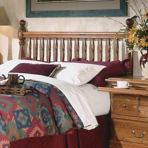 Furniture Traditions Master-Piece King Deluxe Spindle Headboard