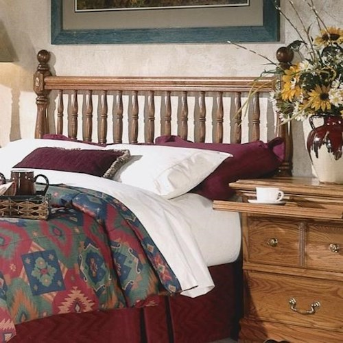 Furniture Traditions Master-Piece Full Deluxe Spindle Headboard