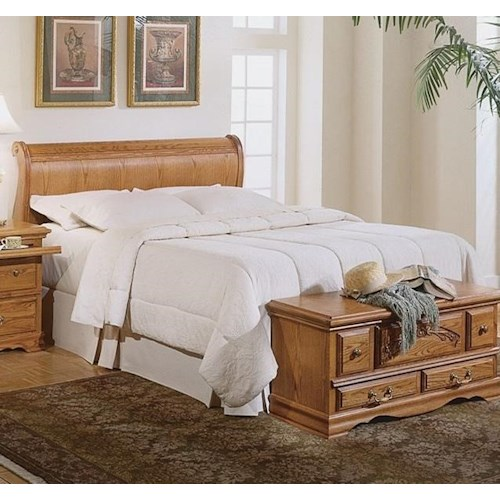 Furniture Traditions Master-Piece King Sleigh Headboard