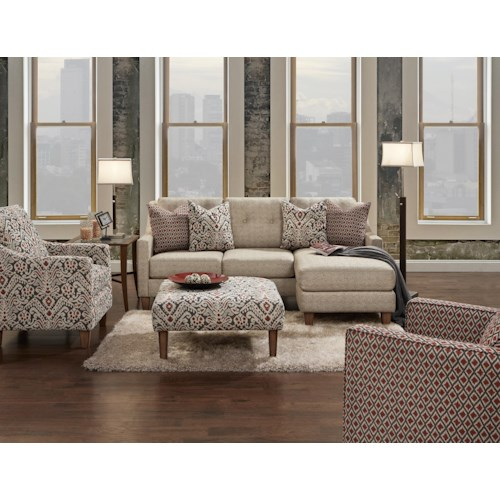 Fusion Furniture 3280 Stationary Living Room Group