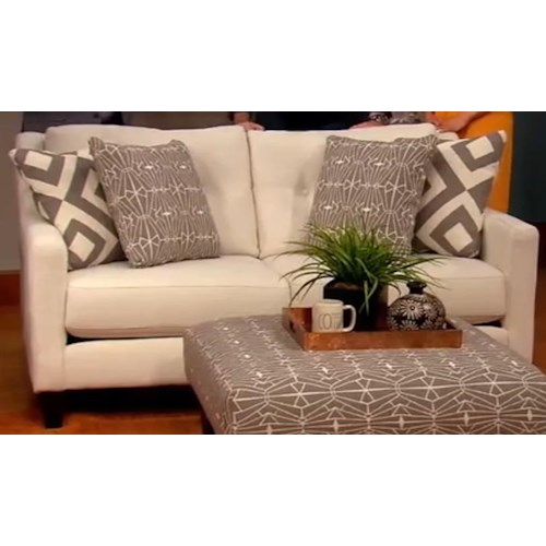 Fusion Furniture Emblem Loveseat