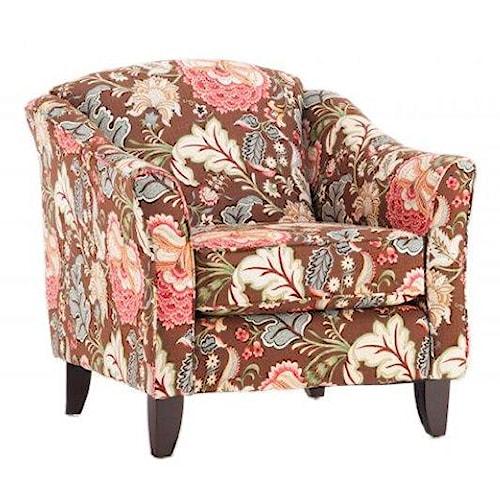 Fusion Furniture    Meadowlark Garnet Chair