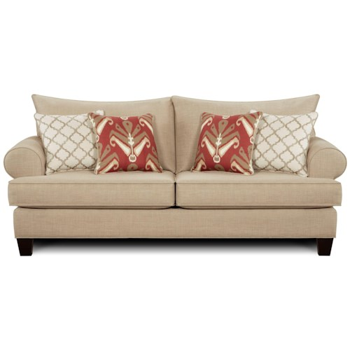 Sofa 9240 By Fusion Furniture Wilcox Furniture Sofas Corpus Christi Kingsville Calallen