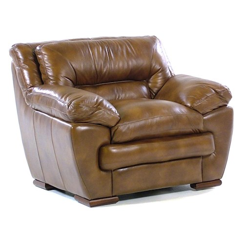 Loft Leather Carlos Chair
