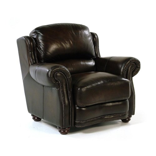 Loft Leather Kirkland Leather Chair