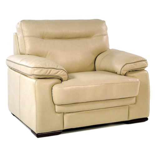 Loft Leather 8542-L Contemporary Leather Chair