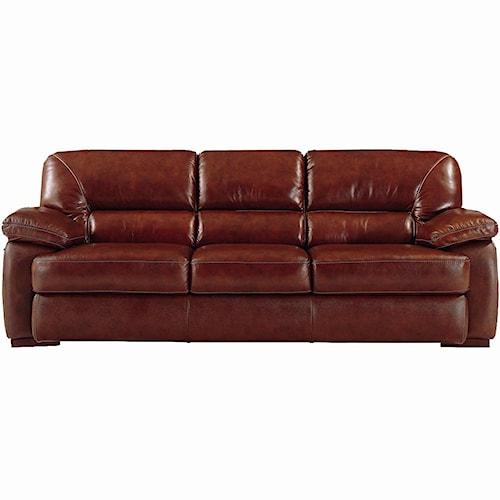 Futura Leather 6127 Leather Sofa