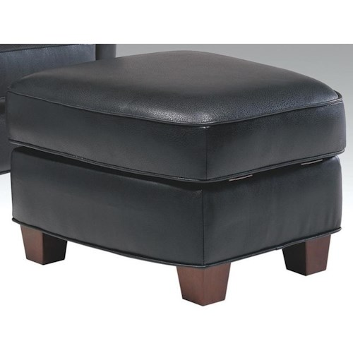 Futura Leather 6307 Casual Storage Ottoman