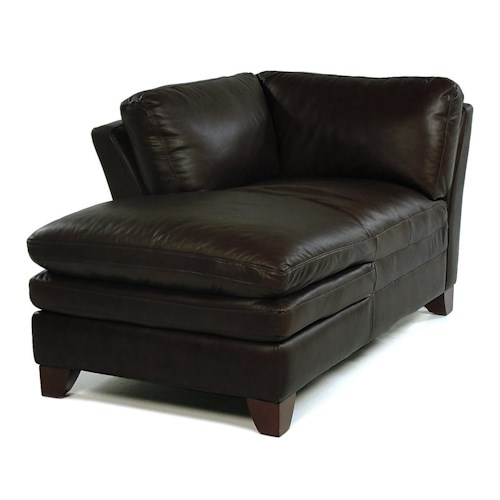 Loft Leather Pacific LAF Chaise