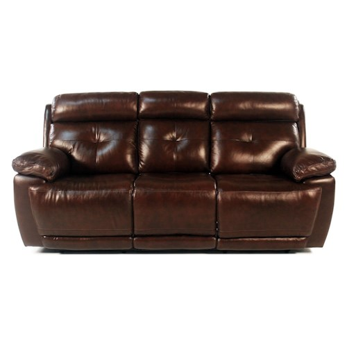 Loft Leather Jasper Power Reclining Leather Sofa