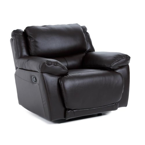 Futura Leather E149 Rocker Recliner Chair with Pillow Arms