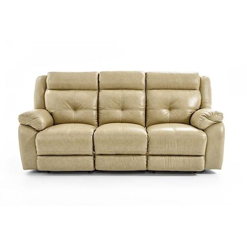 Futura Leather m771 Casual Dual Reclining Sofa