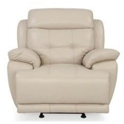 Futura Leather M836 Casual Recliner Chair with Pillow Arms