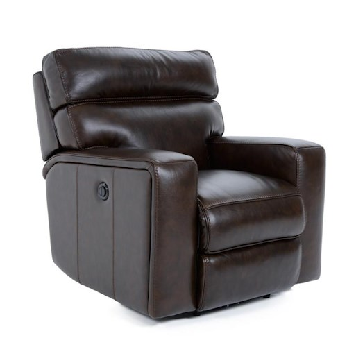 Futura Leather E879 Electric Motion Recliner Chair with Track Arms