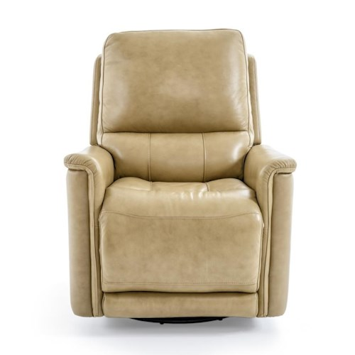 Futura Leather PB1152 Casual Electic Glider Swivel Recliner with Pillow Arms
