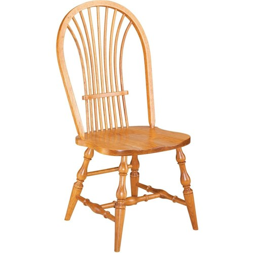 Greenbrier Dining Windsor Wheat Side Chair