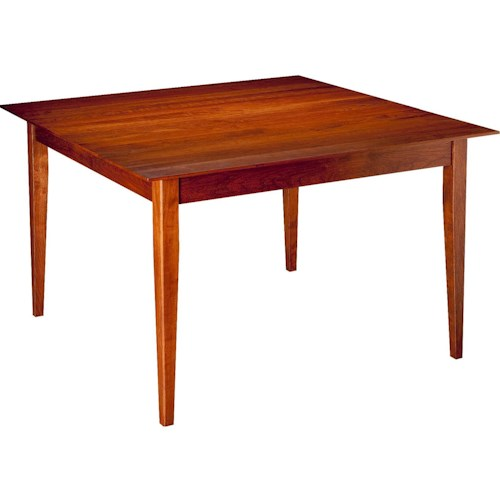 Greenbrier Dining Bryant Square Continuous Top Leg Table