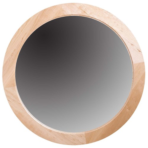 Greenbrier Eastwood Bedroom Round Mirror