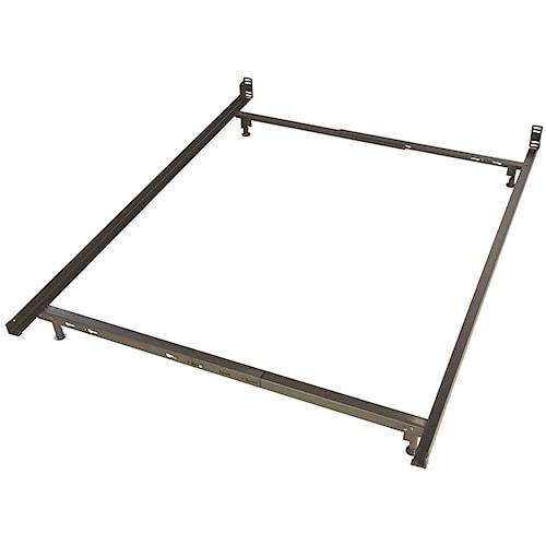 Glideaway Low Profile Bed Frames 4 Leg Twin / Full Low Profile Bed Frame With Glides
