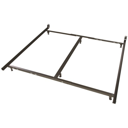 Glideaway Low Profile Bed Frames 6 Leg King Low Profile Bed Frame With Glides