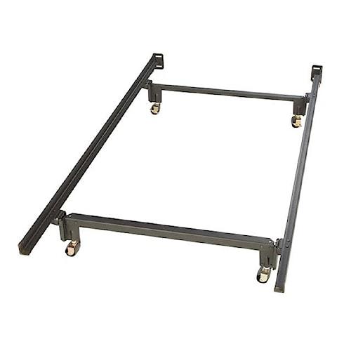 Glideaway Ultra Premium Rug Roller AV Full Ultra Premium Bed Frame with Rug Rollers