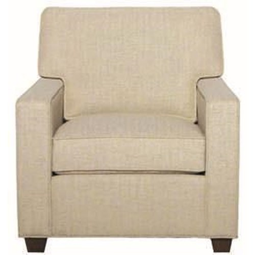 Hallagan Furniture Madison Customizable Transitional Chair
