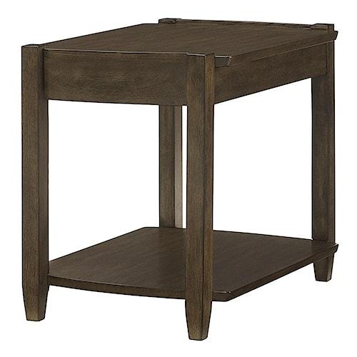 Morris Home Furnishings Alba Rectangular Drawer End Table