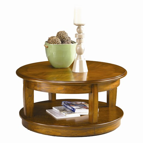 Hammary Ascend Round Lift Top Cocktail Table