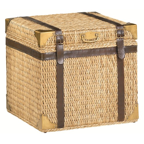 Hammary Boracay Tropical Voyage Trunk End Table