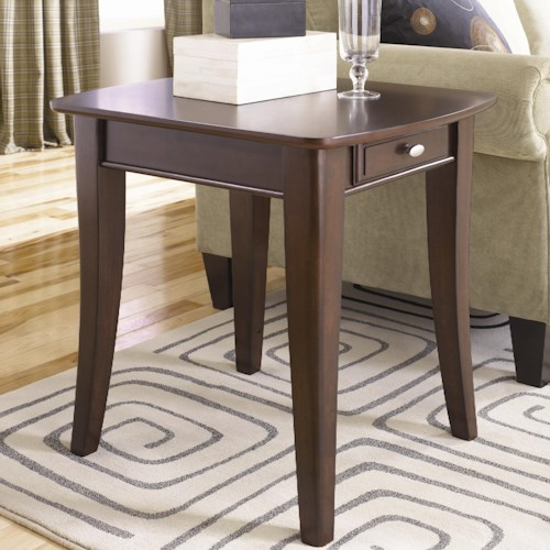 Morris Home Furnishings Enclave HAM Rectangular End Table