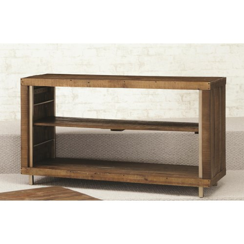 Morris Home Furnishings Flashback Sofa Table with 2 Shelves