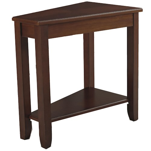 Morris Home Furnishings Chairsides Cherry Chairside Table