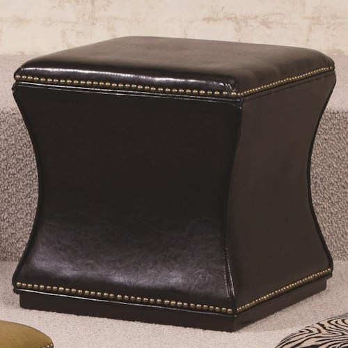 Hammary Hidden Treasures Black Storage Cube