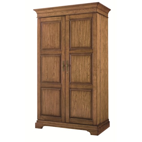Morris Home Furnishings Hidden Treasures Drinks Cabinet with Wine Bottle Storage