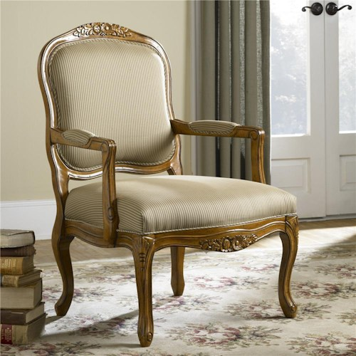 Hammary Hidden Treasures Exposed Wood Chair