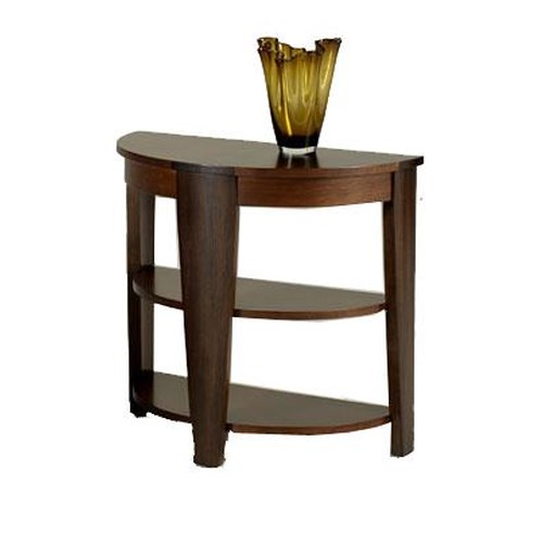 Hammary Oasis Demilune End Table