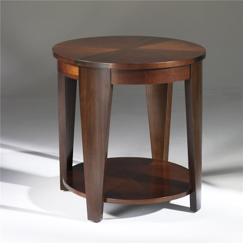 Morris Home Furnishings Oasis Oval End Table