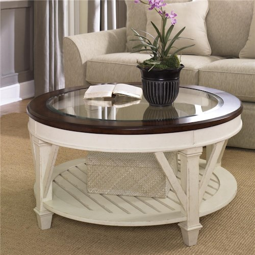 Morris Home Furnishings Promenade Round Cocktail Table