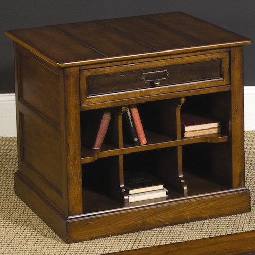 Hammary Mercantile Rectangular Storage End Table