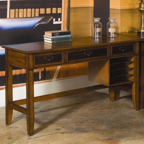Morris Home Furnishings Mercantile Credenza w/ 3 Drawers