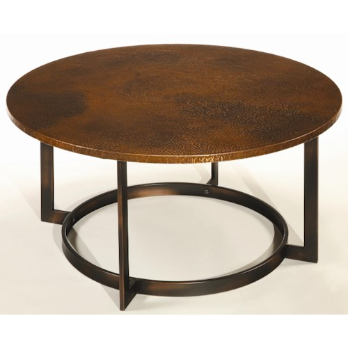 Morris Home Furnishings Nueva Coffee Table Top w/ Copper Top