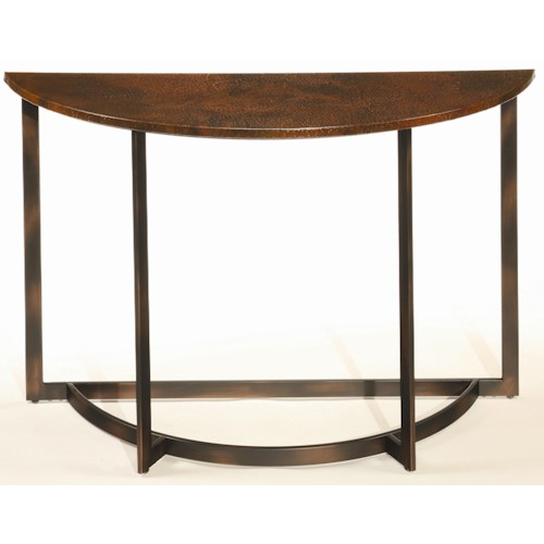 Hammary Nueva Occasional Sofa Table w/ Copper Top