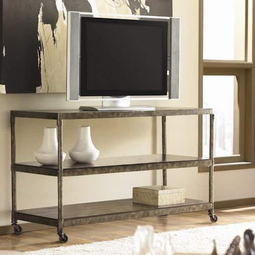 Morris Home Furnishings Structure Television Cart