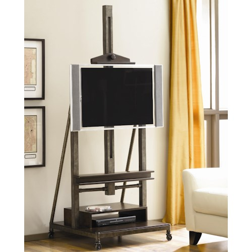 Morris Home Furnishings Structure Television Easel Cart