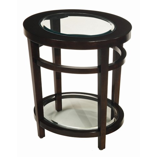 Morris Home Furnishings Urbana Oval End Table