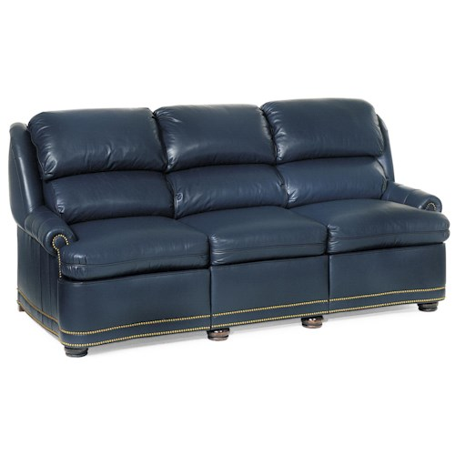 Hancock Amp Moore Austin Traditional Full Recline Sofa With