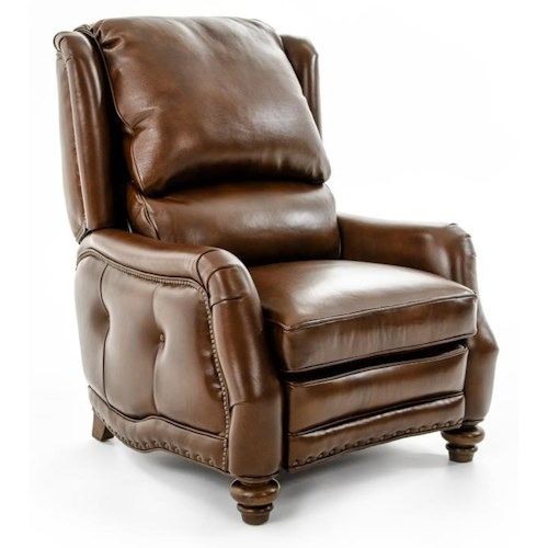 Hancock & Moore Motion Seating Sundance Tufted Arm Recliner with Nailheads